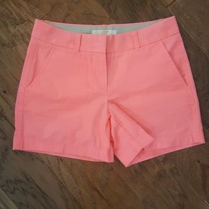J CREW bright shorts size 0